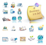 Link to3d business icons
