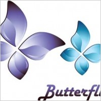 Link to3d butterfly vector, 3d adobe illustrator vector, 3d animal vector, 3d ai vector