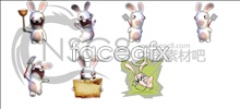 Link to3d cartoon rabbit icons