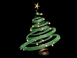 Link to3d christmas tree materials