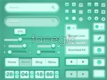 Link to3d client ui design psd source file