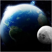 Link to3d earth and moon for adobe photoshop