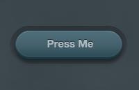3d green button psd