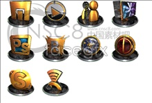 Link to3d hd software icons