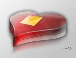 Link to3d heart chocolate box
