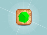 Link to3d home vector icon free