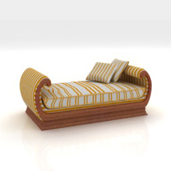 Link to3d model of arab-style recliner