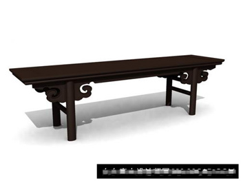 Link to3d model of chinese ancient wood tables