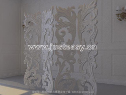 Link to3d model of european plaster wall (including materials)