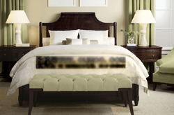 Link to3d model of european wooden double bed (with material)
