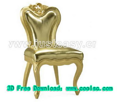 Link to3d model of neo-classical chairs (including materials)
