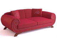 Link to3d model of the classic european-style sofa, paragraph 5-3