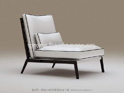 Link to3d model of the classical black and white chair (with material)