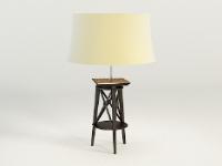 Link to3d model of the modern wooden floor lamps