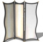 Link to3d model of white european-style screen