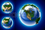 Link to3d perspective the earth psd