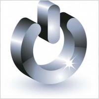 Link to3d power button vector icon, 3d vector icon, adobe photoshop 3d illustrator design, button vector ai, button vector design illustrator
