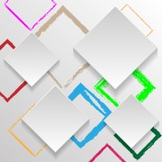 Link to3d square abstract background vector 03 free