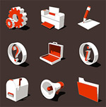Link to3d styled icons 2