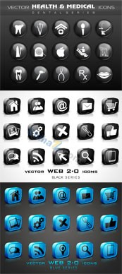 Link to3d web page icon vector