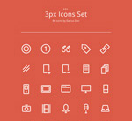 Link to3px icon vector