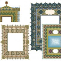 Link to4 beautiful classical pattern lace 2
