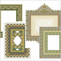 Link to4 beautiful classical pattern lace 3