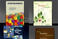 Link to4 book cover design vector