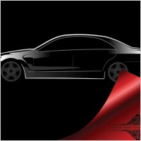 Link to4 car silhouette vector