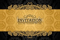 Link to4 cards of european classical pattern vector background map