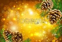Link to4 christmas theme vector