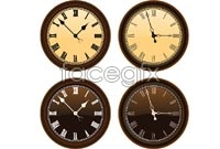 Link to4 classical clock vector graphics