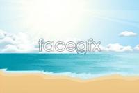 Link to4 coastal landscape vector