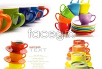 Link to4 color cups hd picture
