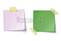 4 color notes, high definition pictures