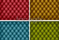 Link to4 color sofa leather texture vector