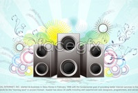 Link to4 current music pattern vector