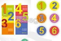 Link to4 digital design banner vector