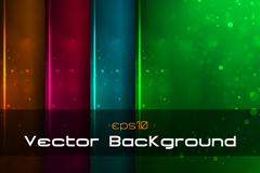 Link to4 fashionable color halo background vector