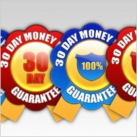 Link to4 free 30 day money back guarantee badges