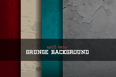 4 mottled texture background vector