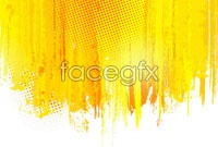Link to4 paint splash background vector