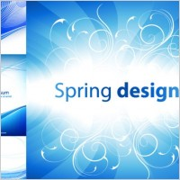 Link to4 practical blue background vector