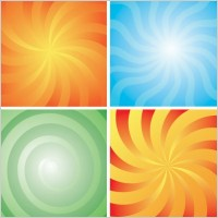 Link to4 rotation lines of the background vector