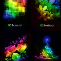 Link to4 symphony of the background vector