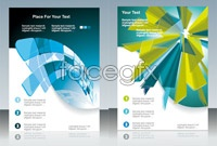 Link to4 technology background design vector map