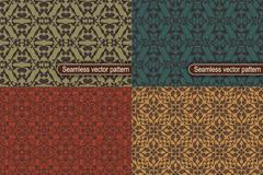 Link to4 vintage decorative background vector