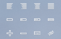 Link to40 icon set psd