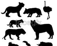 Link to41 animal silhouette vector design