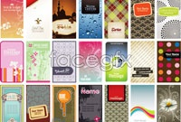Link to42 succinct pattern card vector